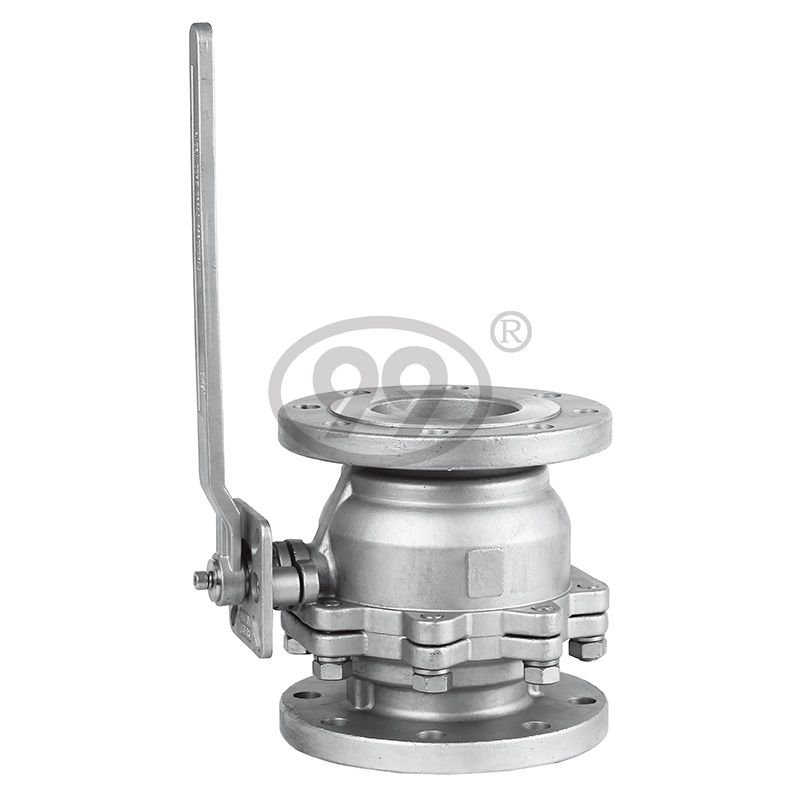 2-PC Flanged Ball Valve (Full Bore ANSI Class150)