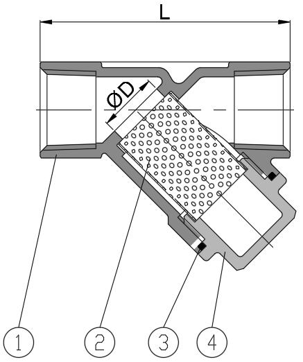 Y-strainer (800PSI)